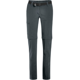 Maier Sports Inara Slim Zip Off Pants Women Short graphite